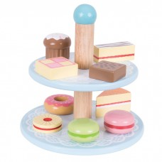 Cake Stand & 9 Cakes